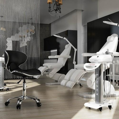fotel kosmetyczny VARIO, urządzenie kosmetyczne ProfilineVACUM KAWITACJA RADIOFREKWENCJA RF, LAMPA LUPA DELUX LED, POMOCNIK KOSMETYCZNY / WENUS