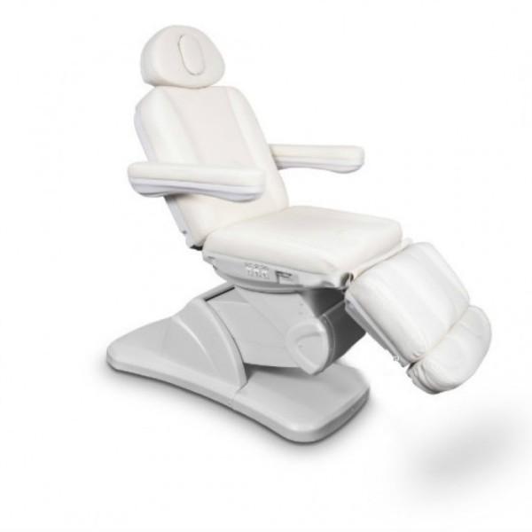 Fotel kosmetyczny MEDICO II PLUS z podgrzewaniem biały
