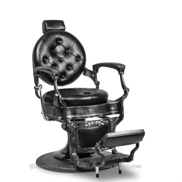 Fotel fryzjerski BARBER BAROK czarny